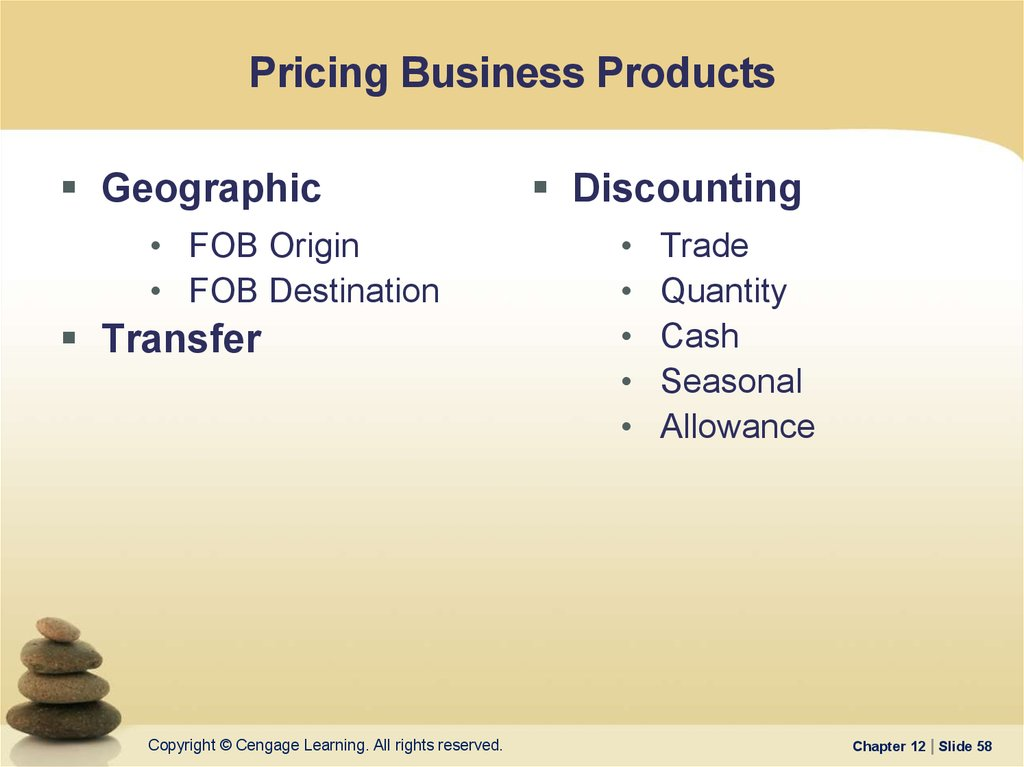 Pricing Business Products