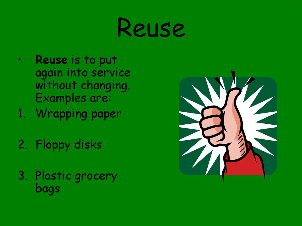 recycling  what is recycling