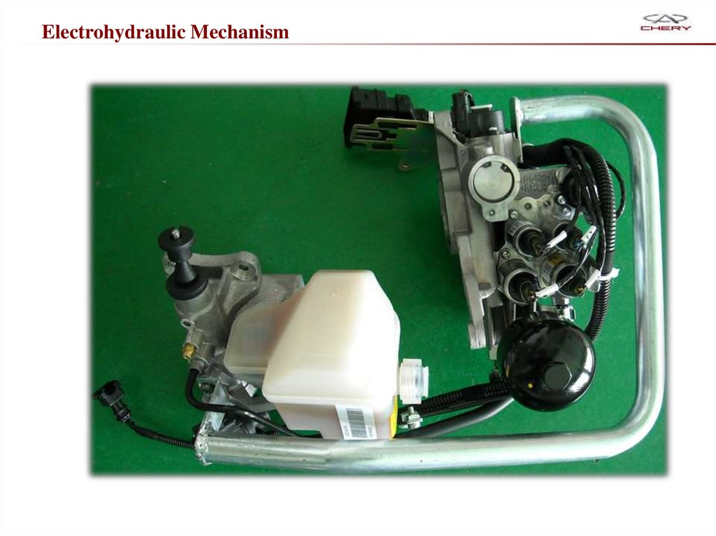 Electrohydraulic Mechanism