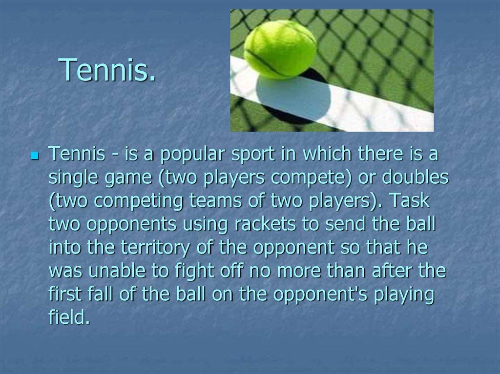 tennis history