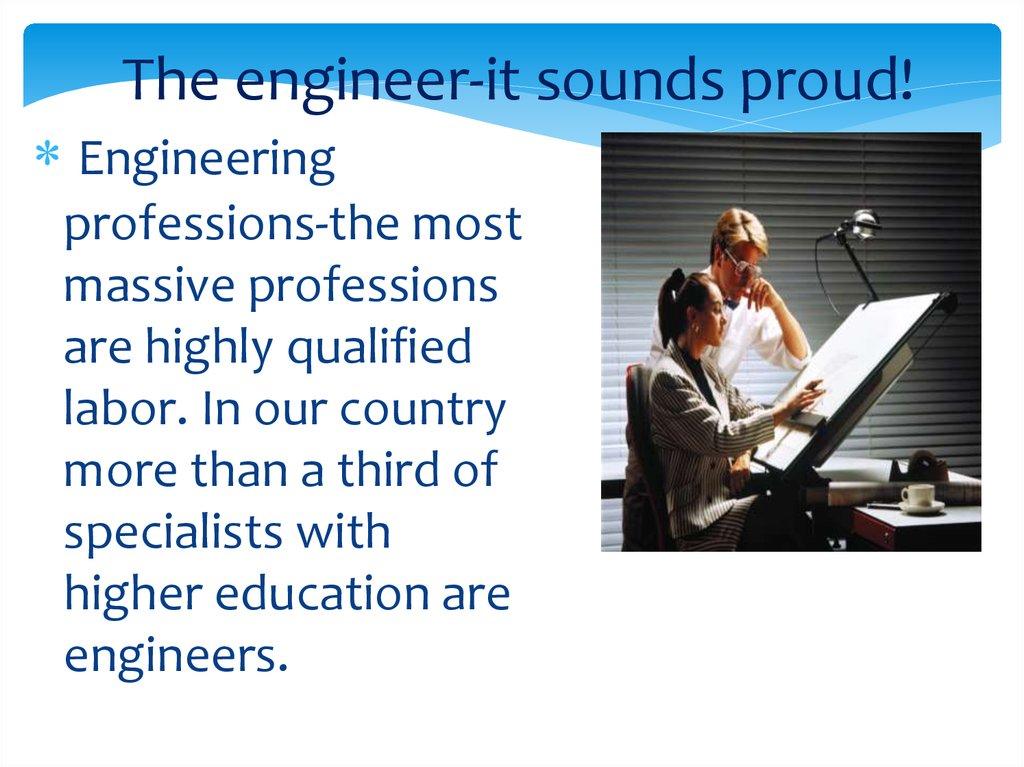 my future profession engineer