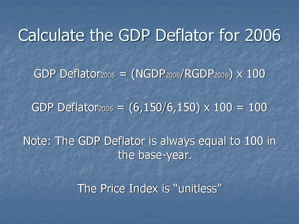 how to get nominal gdp