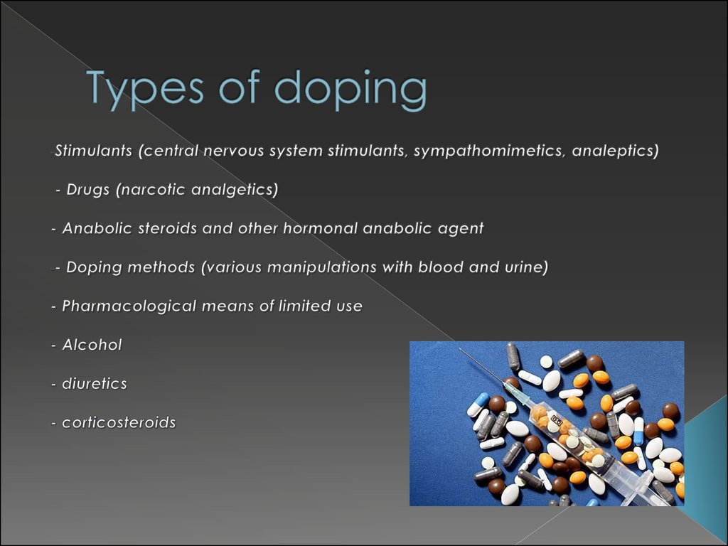 Types of doping