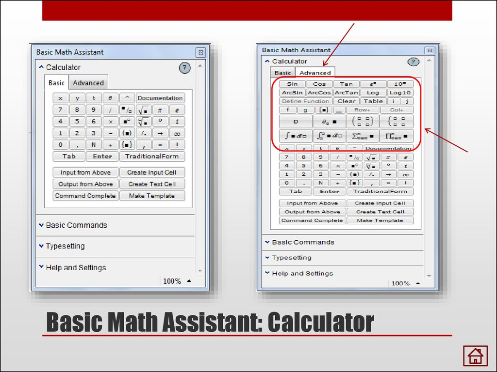 Basic Math Assistant: Calculator