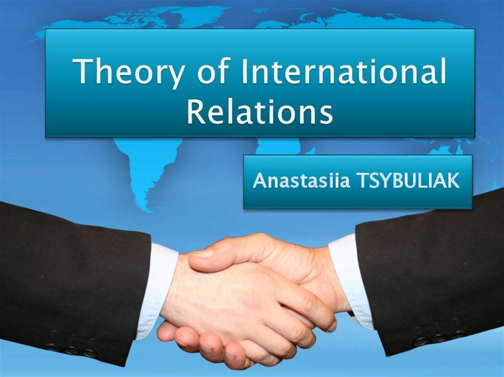 Theory of International Relations