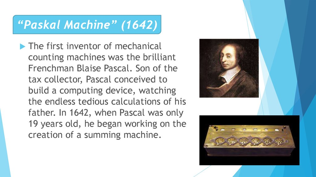 """Paskal Machine"" (1642)"