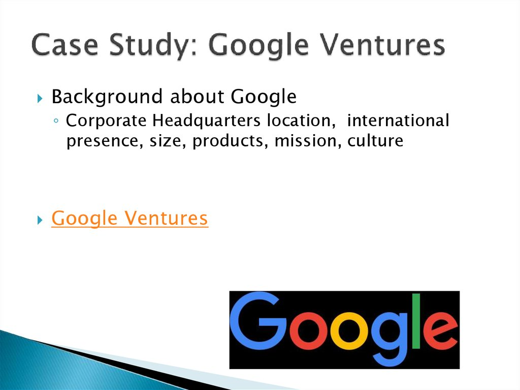 google organizational culture case study