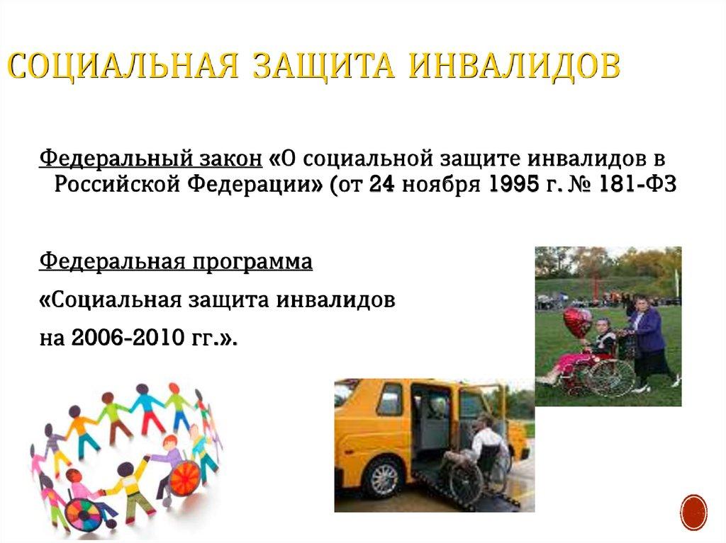 Инвалидность как медико социальная проблема презентация онлайн 247 Социальная защита инвалидов