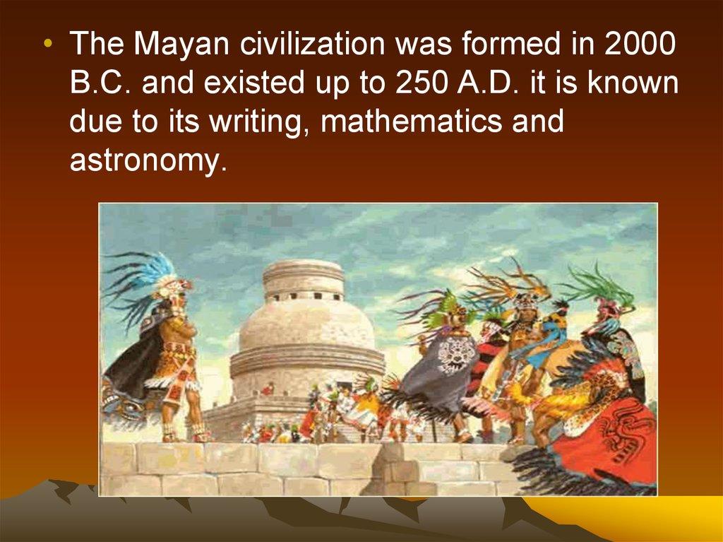 The Mayan Civilization Online Presentation