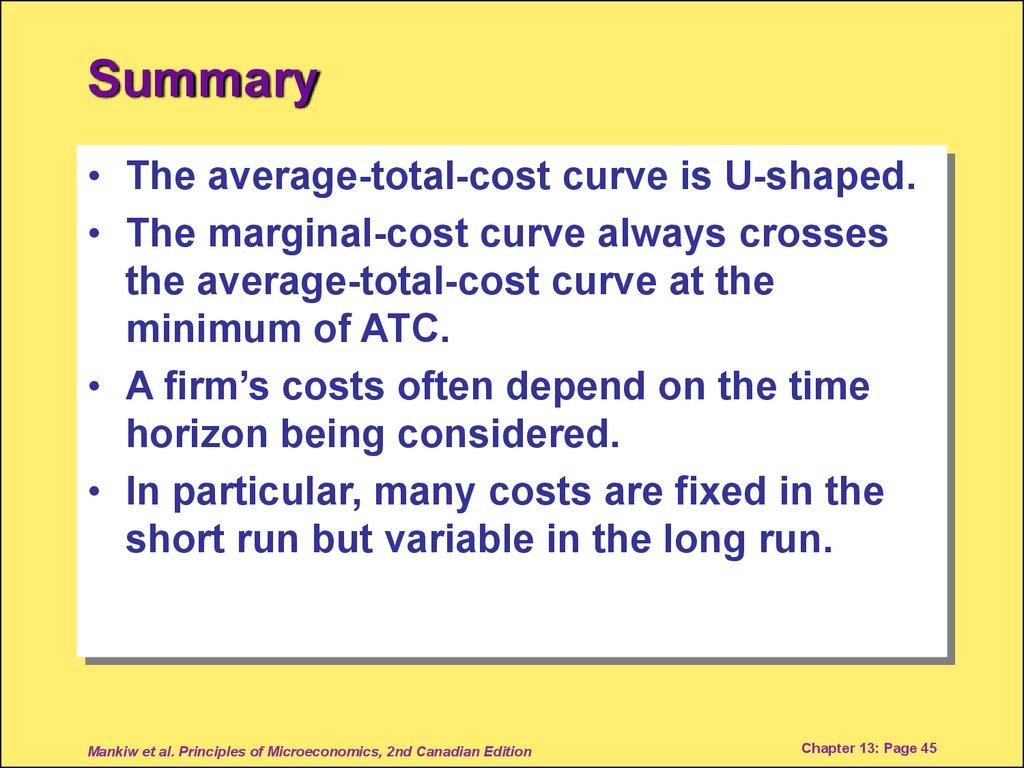 short run average cost curve u shaped
