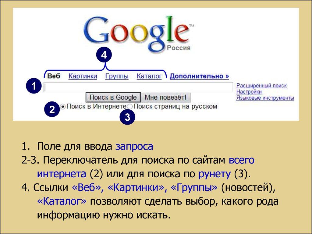 Поиск информации уроки бесплатного поиска в 61