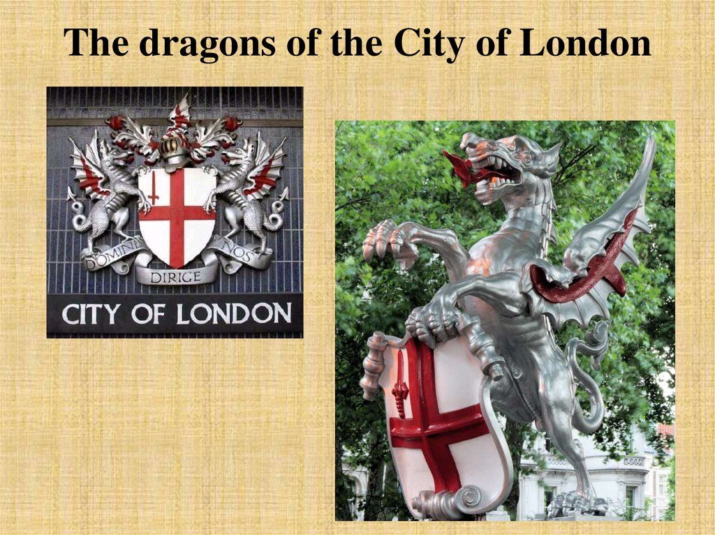 The dragons of the City of London