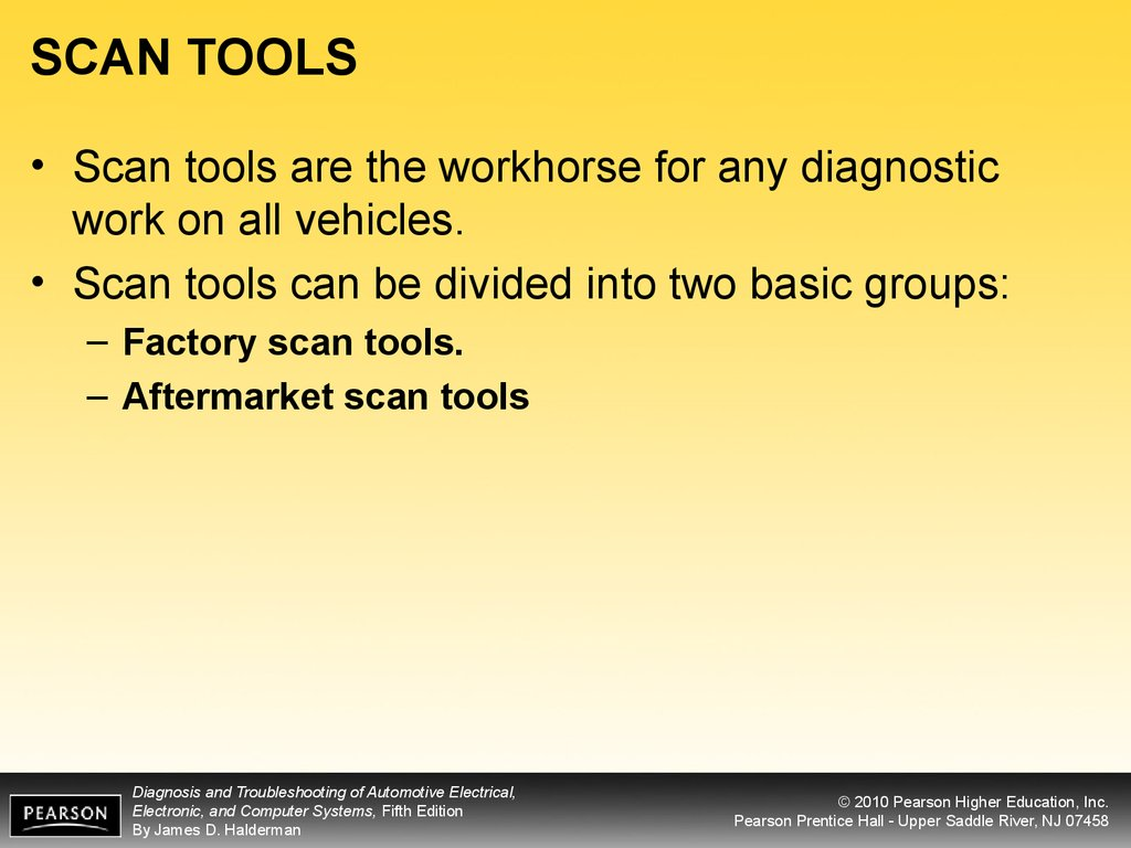 SCAN TOOLS