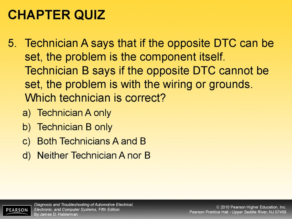 Diagnosis And Troubleshooting Of Automotive Electrical Online House Wiring Quiz Chapter