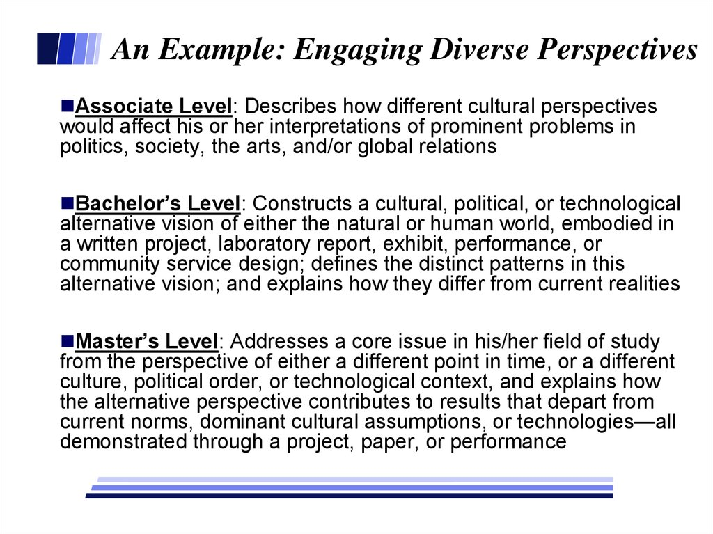 perspectives of diversity paper