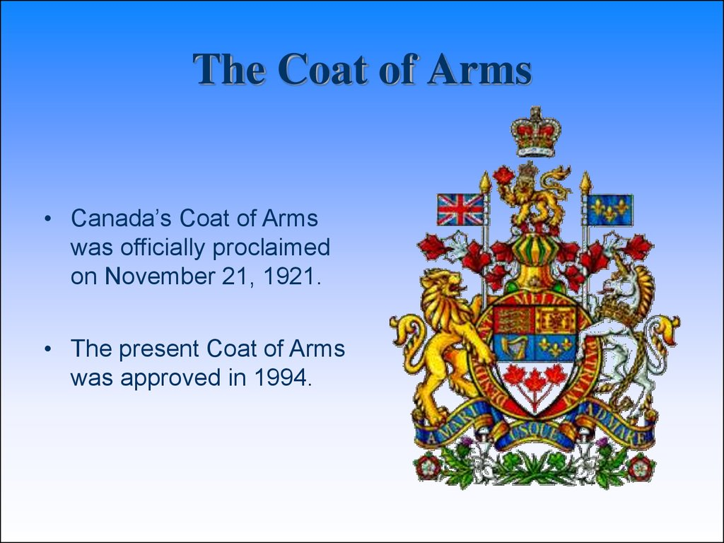 Canada 3 the coat of arms biocorpaavc Choice Image