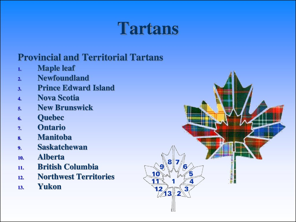 Canada 5 tartans provincial and territorial tartans biocorpaavc Choice Image