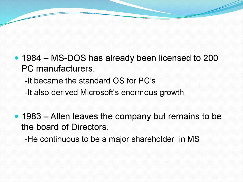 the origin and history of microsoft Microsoft originally marketed a spreadsheet program called multiplan in 1982,  which was very popular on cp/m systems, but on ms-dos systems it lost.