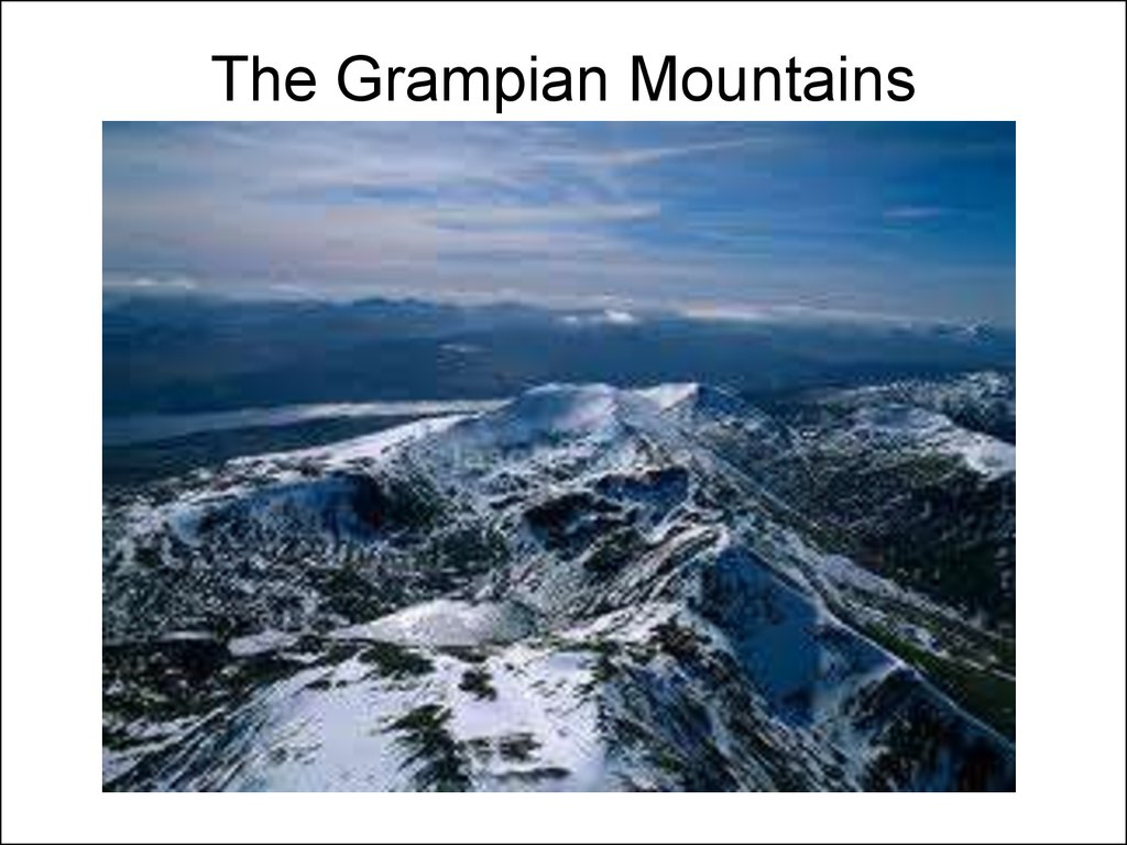 The Grampian Mountains