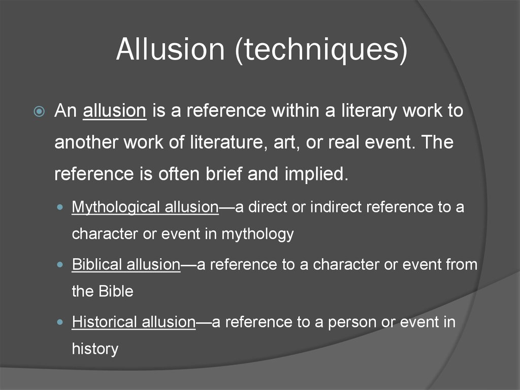 literary devices of fiction