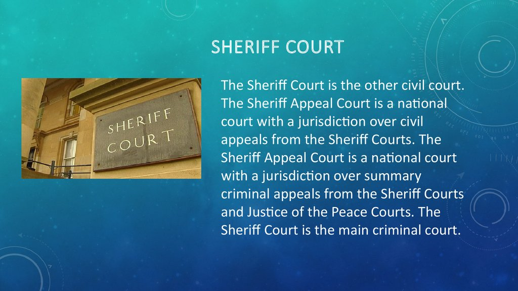 Sheriff Court