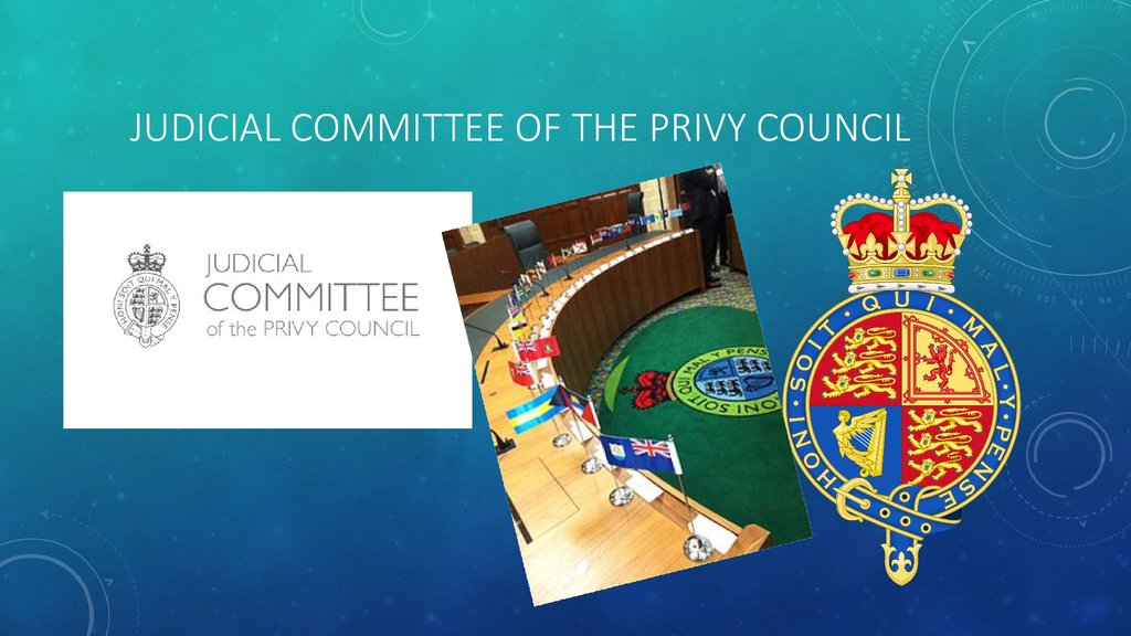 Judicial committee of the Privy Council
