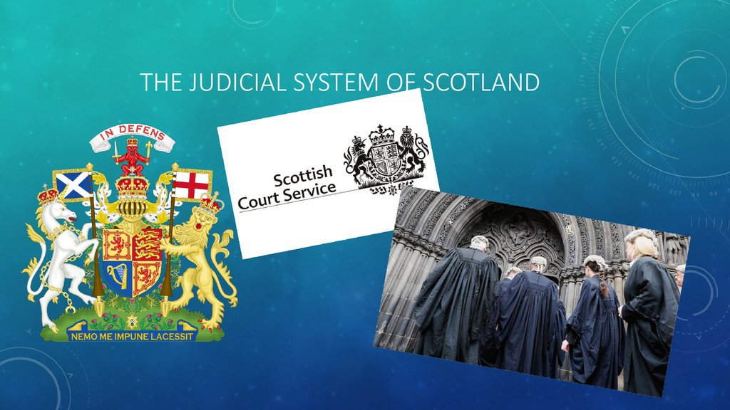 the judicial system of scotland