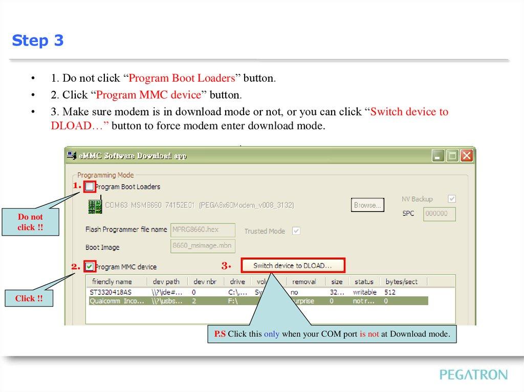 Westlake  SOP of Image Download BU15-SW Div - online presentation