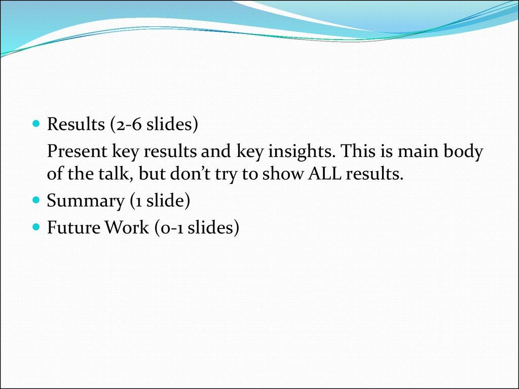 how to make a good presentation slide
