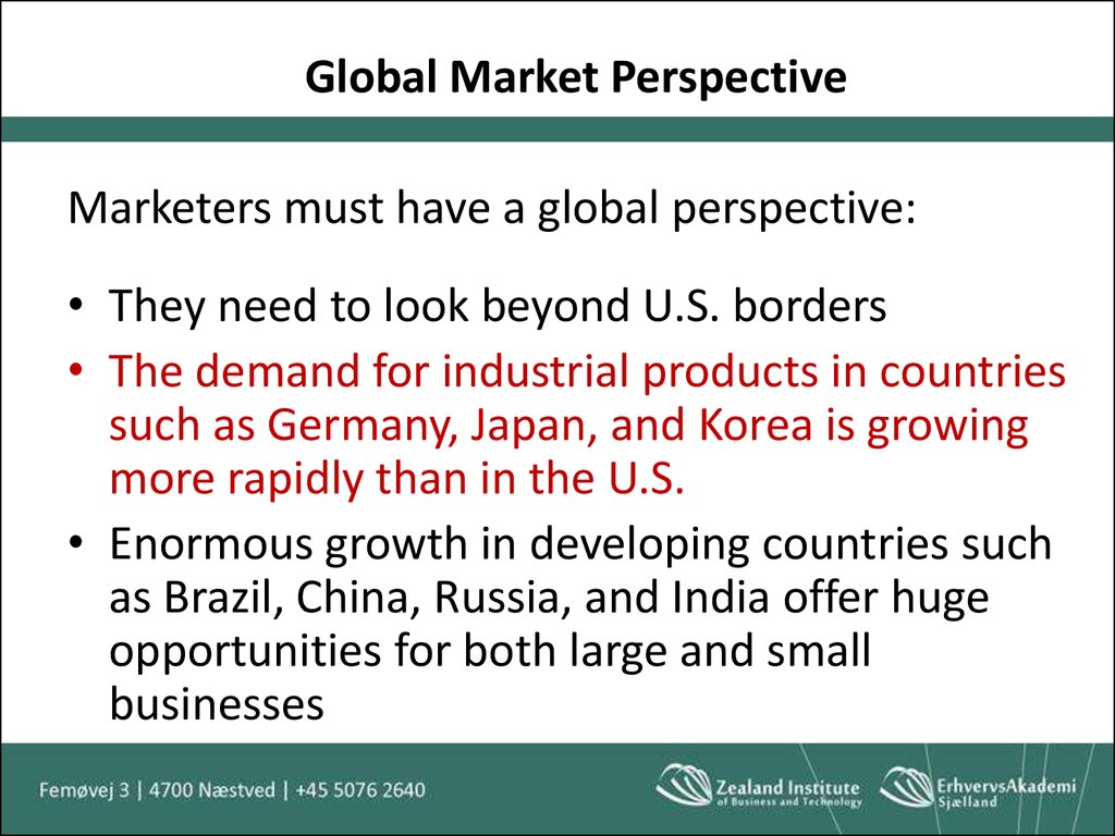 Global Market Perspective