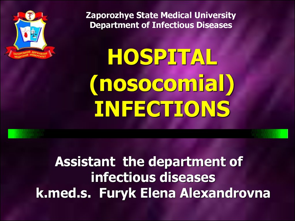 hospital  nosocomial  infections