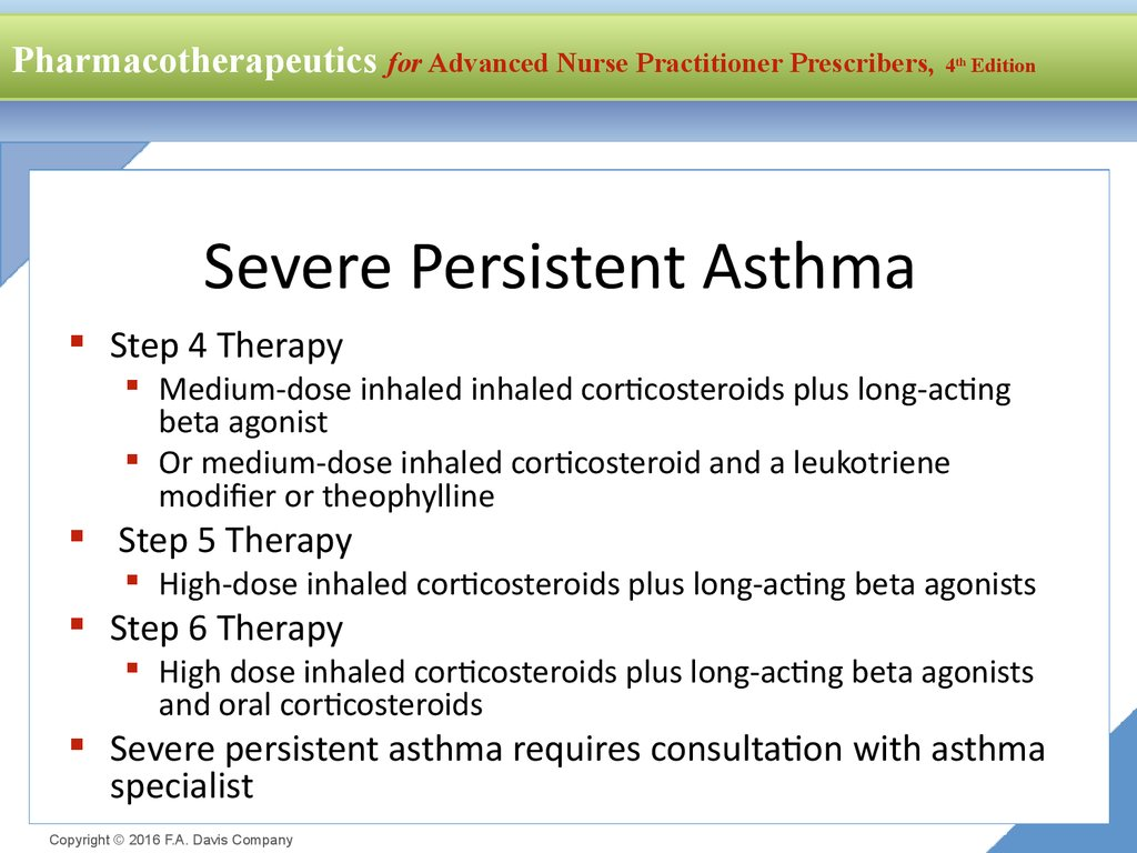 Severe Persistent Asthma