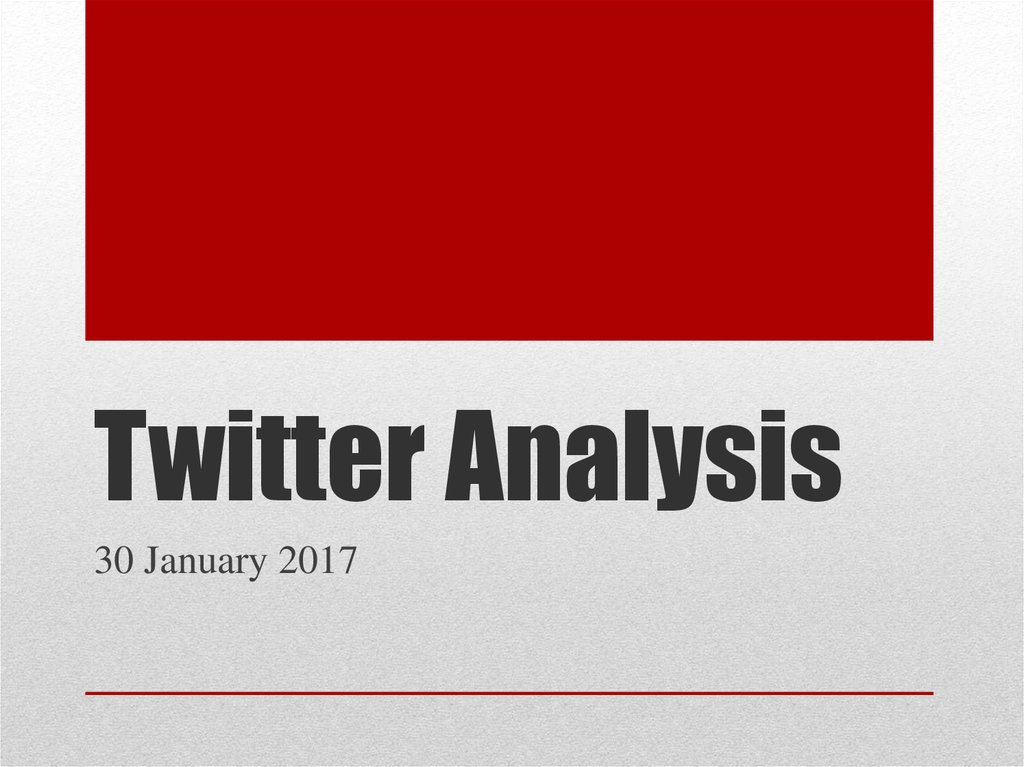 twitter analysis Do you use twitter's built-in analytics tool are you looking for new ways to measure success on twitter twitter's analytics tool is the social network's best-kept secret and gives you access to data that other third-party services can't.