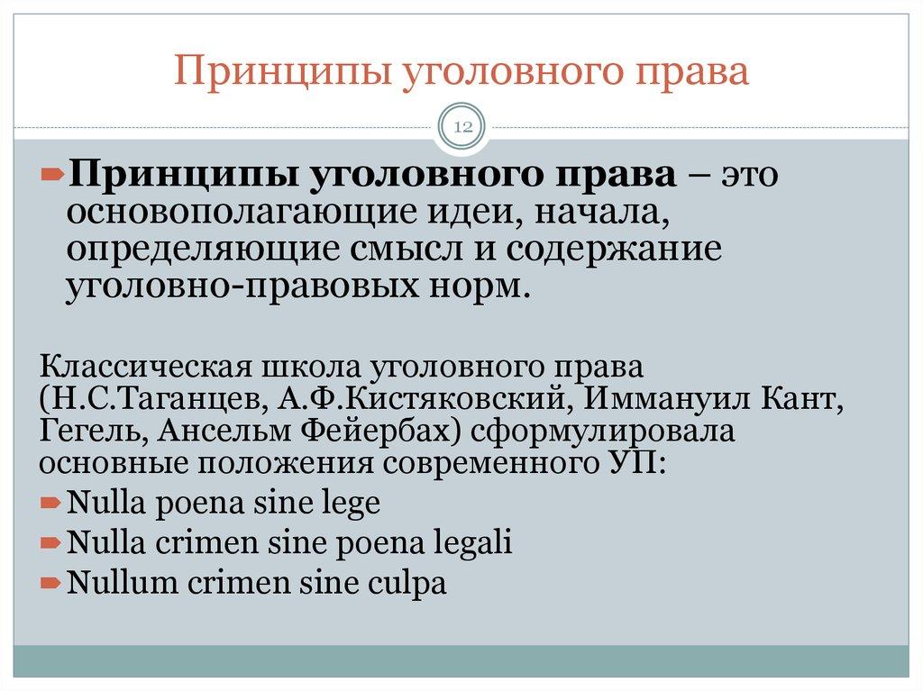 директора принципы уголовного права украины отличается составу