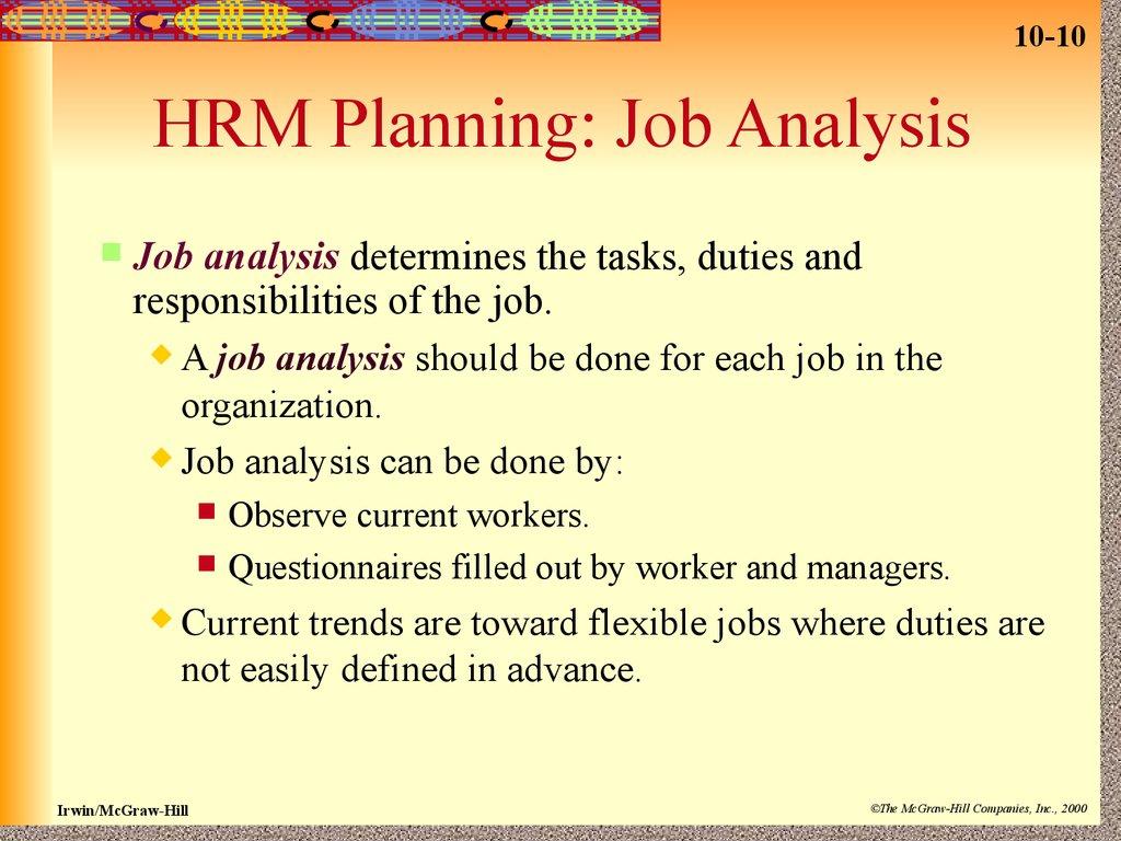 international human resource management determining the