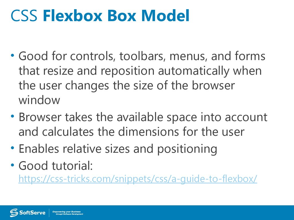 CSS Flexbox Box Model