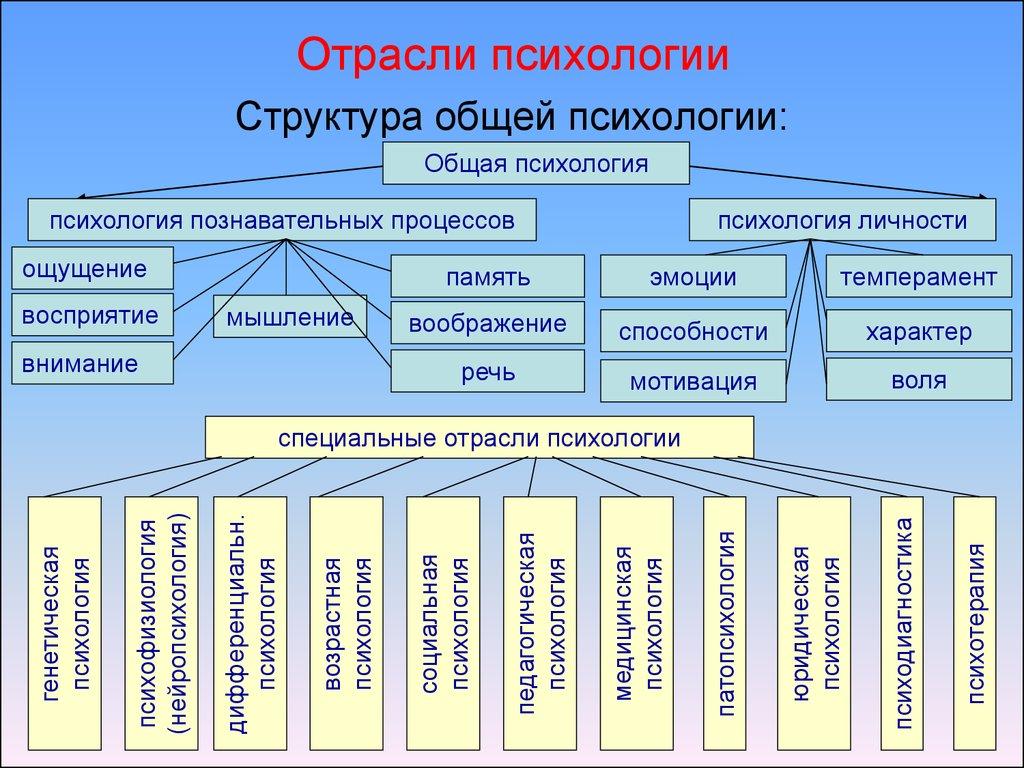 Как науки шпаргалка психологической практическая отрасль психология