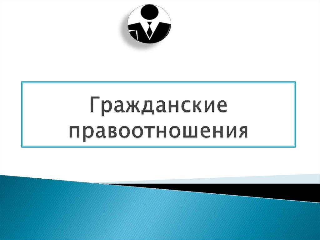 гражданские процессуальные правоотношения реферат