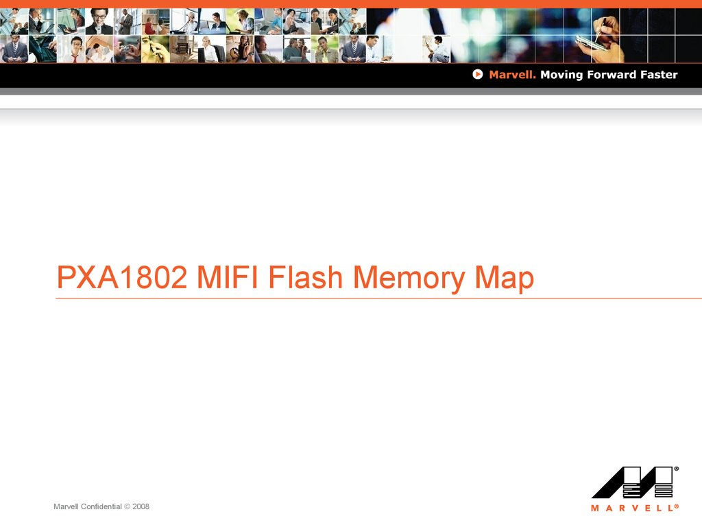 PXA1802 MIFI Flash Memory Map