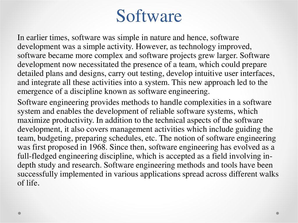 Software