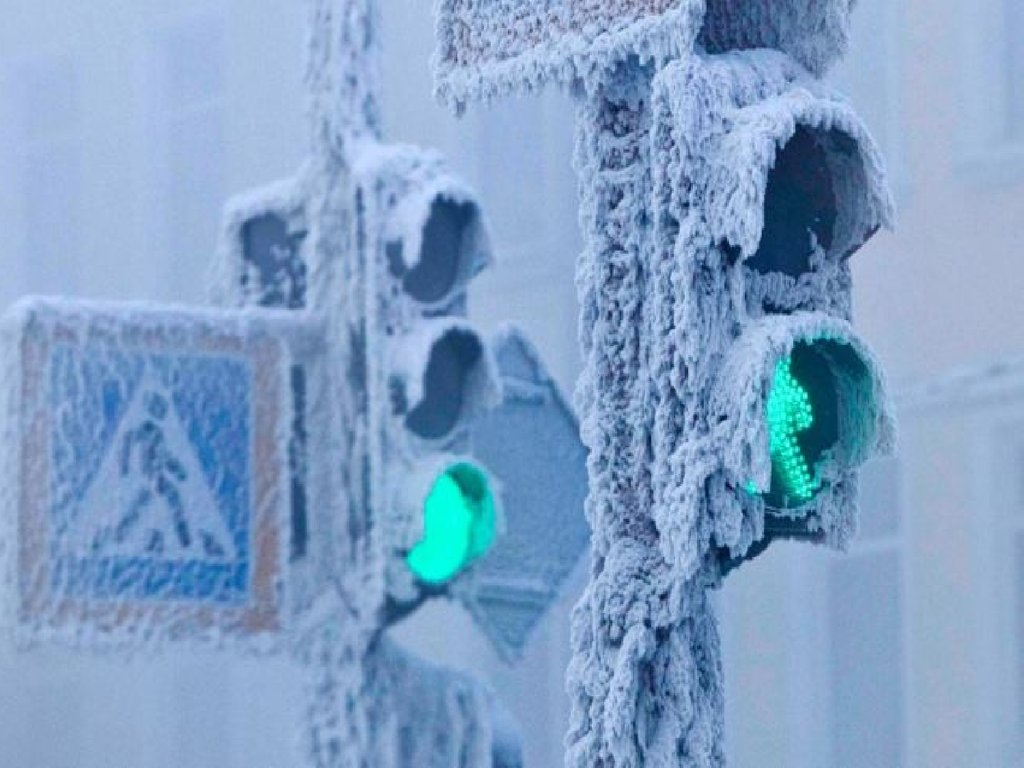 In Russian city Oimyakon lowest temperature of air is registered in year 1933 was -67.7 °C