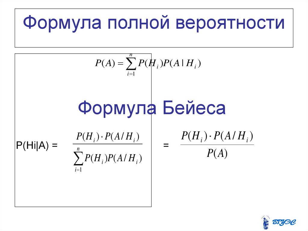 Решение задачи по теории вероятности байеса рабочая программа практикум по решению физических задач