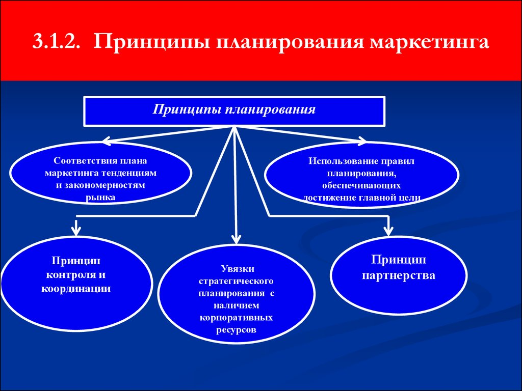 Цели и принципы планирования маркетинговой деятельности на предприятии шпаргалка