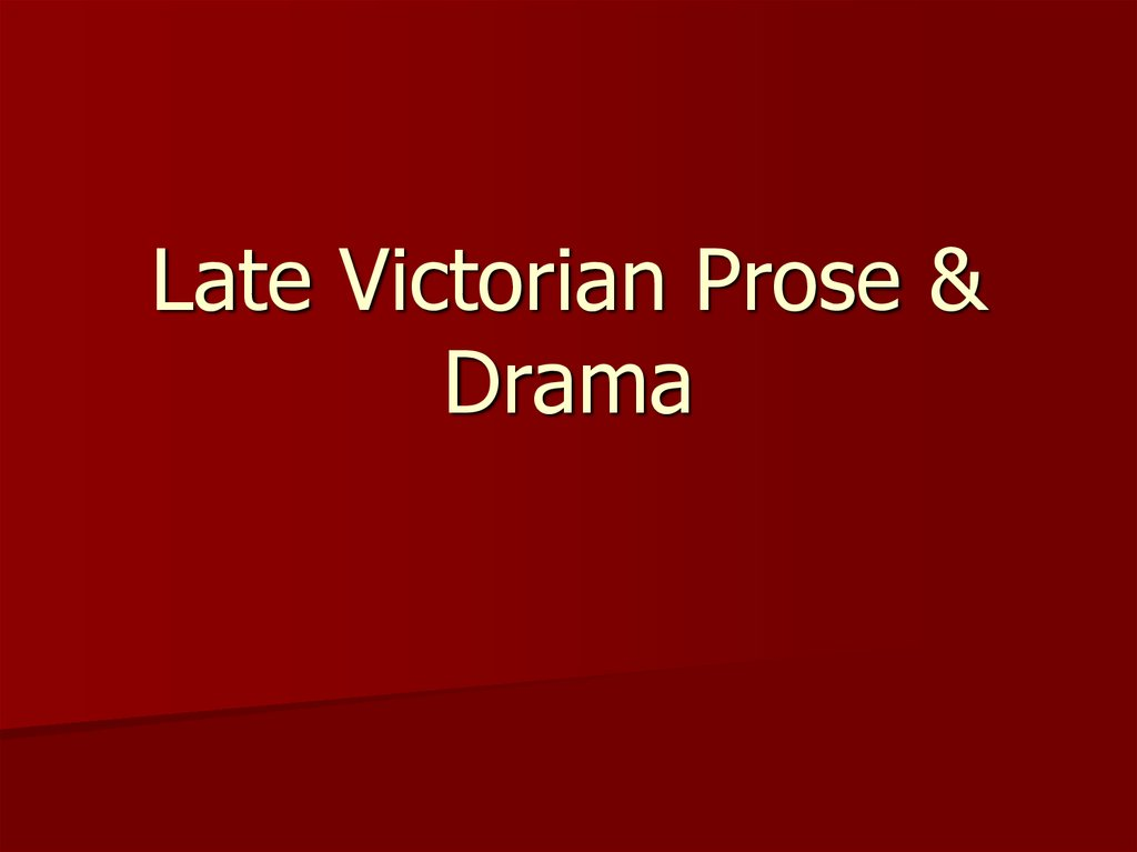 victorian prose Texts: the broadview anthology of victorian poetry, thomas collins and vivienne rundle, eds victorian prose: an anthology, rosemary mundhenk and luann mccracken fletcher, eds.
