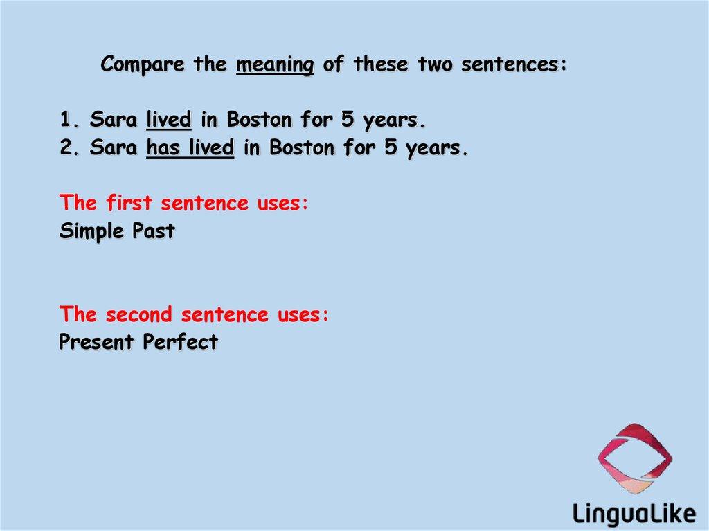 Simple past vs  Present perfect  (lesson 3) - презентация онлайн