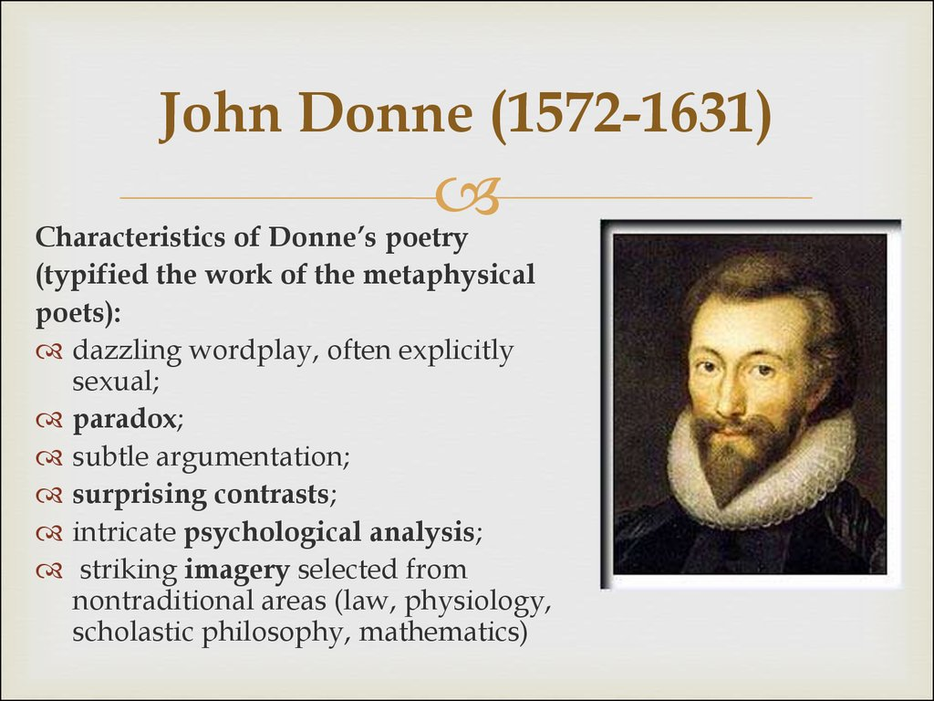 a literary analysis of the poetry by john donne In this video, i introduce you to the significance of literary context, the metaphysical poets, and john donne.