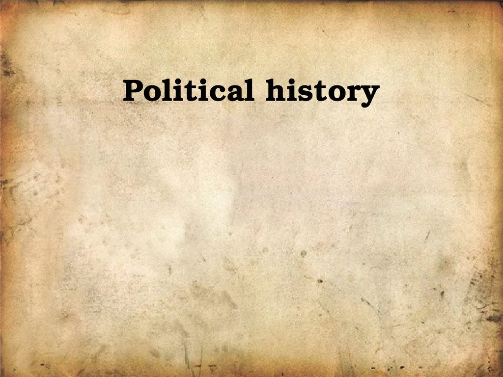 Political history