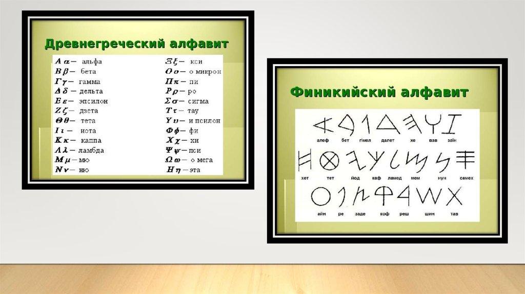 Древнегреческое письмо 1 век