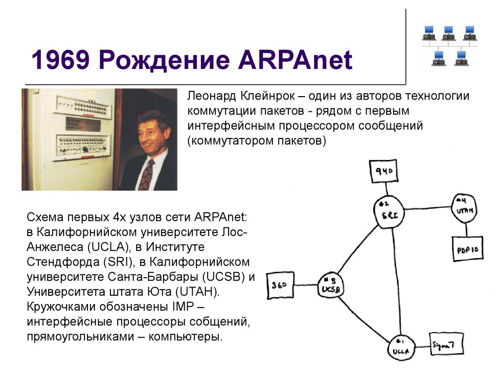 a closer look at the arpanet and the power of the internet In 1971, researchers developed the terminal interface processor (tip) for dialing into the arpanet from an individual computer terminal [source: arpanet] but the greatest networking evolution came in 1982, when arpanet switched over to transmission control protocol and internet protocol (tcp/ip), the same packet-switched.