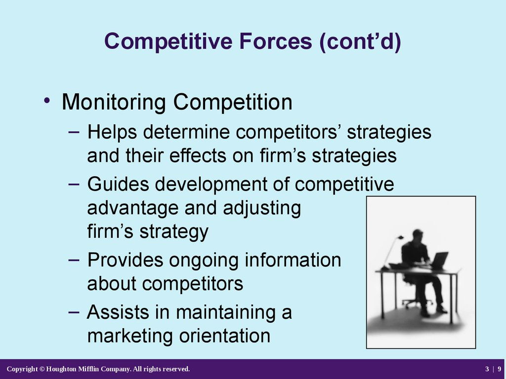 competituive forces Start studying mgt ch7 learn vocabulary, terms, and more with flashcards, games, and other study tools.
